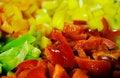 Free Four Colors Paprika 3 Stock Photo - 1230700