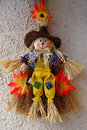 Free Little Cute Scarecrow Stock Photography - 1238502