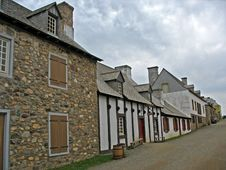 Free A Street In The Fortress Of Louisbourg Royalty Free Stock Photo - 1232305