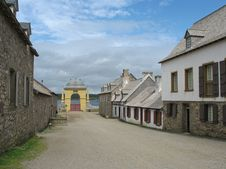 Free Main Street In The Fortress Of Louisbourg Royalty Free Stock Image - 1232336