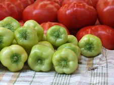 Fresh Food On Market