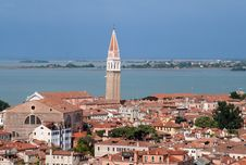 Free Aerial View Of Venice Stock Photography - 1234062