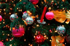 Free Christmas Ornaments Royalty Free Stock Image - 1234146