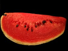 Free Slice Of Water Melon Royalty Free Stock Photos - 1234328