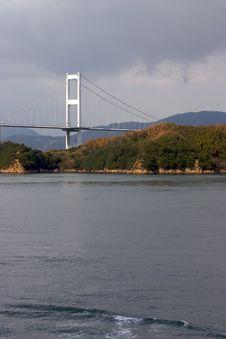 Free Japanese Bridge Vertical Royalty Free Stock Image - 1234456