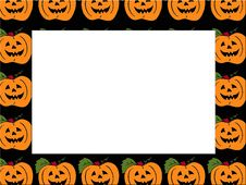Free Orange Pumpkin Royalty Free Stock Photography - 1235037