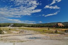 Yellowstone Geyser Royalty Free Stock Images