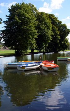 Free Boating Lake Royalty Free Stock Image - 1236376