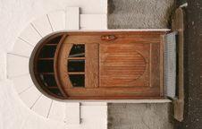 Free Old Wooden Door Stock Photography - 1236862