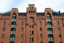 Free Old Warehouse In Hamburg Harbor Stock Image - 1237611