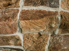 Free Stone Wall Texture Royalty Free Stock Photography - 1238027