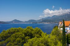 Free Budvanska Riviera Royalty Free Stock Photos - 1238278