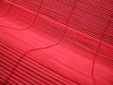 Free Red Bamboo Texture Royalty Free Stock Image - 1239766