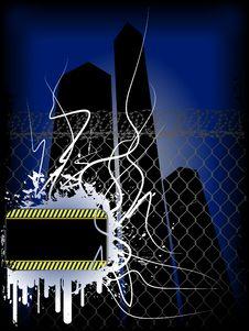 Free Grunge Dark City Royalty Free Stock Photos - 12303598
