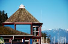 Free Harbor Boathouse Stock Photos - 12318743