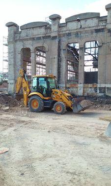 Free Construction, Demolition, Construction Equipment, Vehicle Stock Photo - 123126050