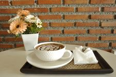 Free Coffee Cup, Tableware, Table, Ceramic Stock Image - 123126251