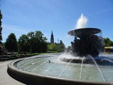 Free Fountain, Water, Water Feature, Water Resources Royalty Free Stock Photos - 123126288