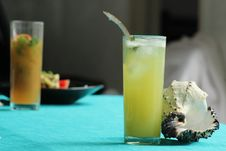 Free Drink, Non Alcoholic Beverage, Juice, Cocktail Stock Photo - 123126380