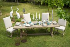 Free Furniture, Table, Backyard, Grass Royalty Free Stock Photos - 123126518