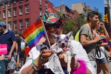 Free Festival, Pride Parade, Event, Crowd Royalty Free Stock Images - 123126519