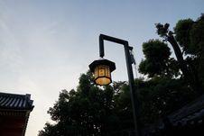Free Sky, Street Light, Light Fixture, Tree Stock Images - 123126724