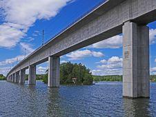 Free Bridge, Waterway, Fixed Link, Beam Bridge Stock Photos - 123126833
