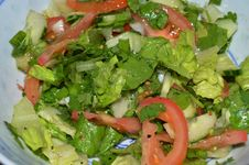 Free Dish, Salad, Vegetable, Leaf Vegetable Royalty Free Stock Image - 123126906