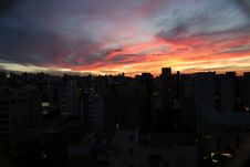Free Sky, Sunset, City, Urban Area Stock Images - 123127484
