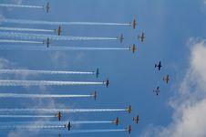 Free Sky, Air Show, Aviation, Aerobatics Stock Photos - 123205403