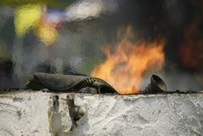 Free Geological Phenomenon, Smoke, Fire, Sky Stock Image - 123205421