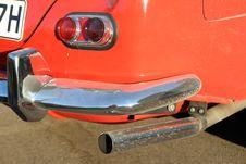 Free Car, Motor Vehicle, Red, Bumper Royalty Free Stock Image - 123239566