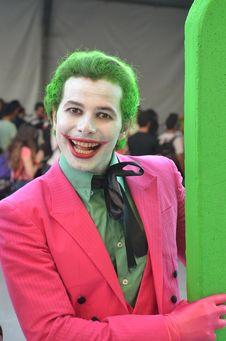 Free Green, Smile, Joker, Costume Stock Photography - 123239762