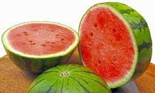 Free Watermelon, Melon, Fruit, Cucumber Gourd And Melon Family Stock Photos - 123239923