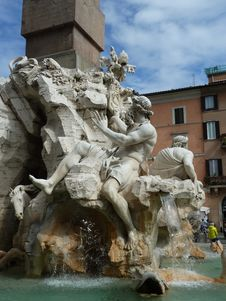 Free Sculpture, Fountain, Water, Statue Royalty Free Stock Images - 123240099