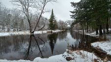 Free Water, Reflection, Waterway, Winter Royalty Free Stock Image - 123240496
