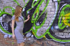 Free Green, Art, Wall, Graffiti Royalty Free Stock Photography - 123314367