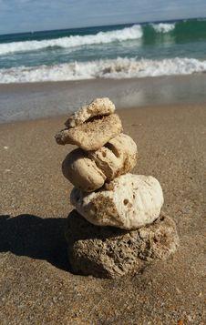 Free Sea, Sand, Rock, Beach Stock Photo - 123314430