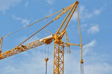 Free Sky, Yellow, Crane, Structure Royalty Free Stock Image - 123314436