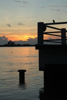 Free Reflection, Sky, Water, Sunset Stock Photo - 123314710
