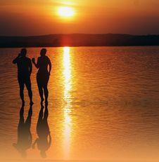 Free Sunset, Sun, Sea, Water Royalty Free Stock Photos - 123314758