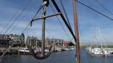 Free Waterway, Sailing Ship, Marina, Tall Ship Royalty Free Stock Photo - 123399755