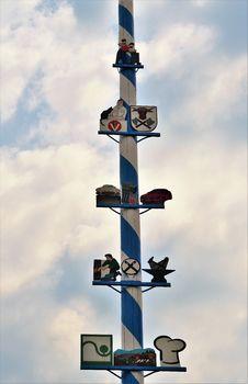 Free Cross, Sky, Cloud, Pole Stock Photography - 123400122