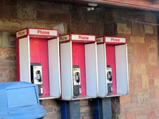 Free Telephone Booth, Payphone Royalty Free Stock Photos - 123400158