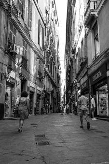 Free Town, Street, Road, Neighbourhood Stock Photography - 123400202