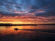 Free Reflection, Sky, Horizon, Sunset Royalty Free Stock Images - 123400269