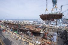 Free Ship, Port, Construction, Naval Architecture Stock Photos - 123400393