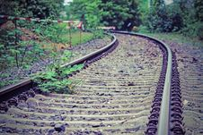 Free Track, Path, Rail Transport, Grass Stock Photo - 123470180