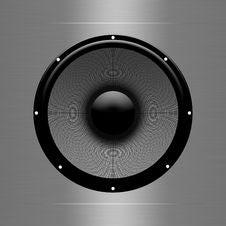 Free A Dark Speaker Stock Photo - 12369170