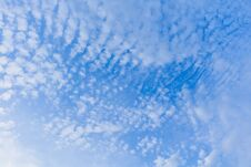 Free Blue Sky With Clouds Stock Images - 123648564